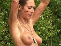 wild nude woman